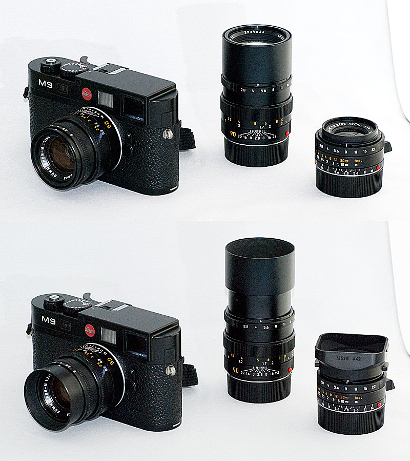 [Image: M9 and Lenses Final.jpg]
