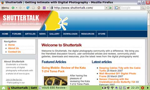 The Mozilla Firefox Web Browser