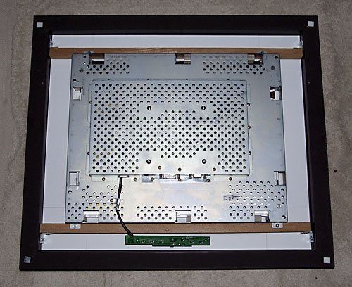 Figure 10 – LCD Bracing Complete