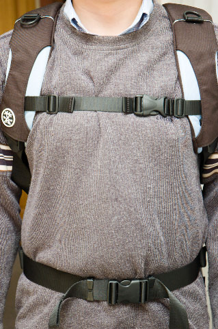 Wide Shoulder straps, Stabilizing Chest and Waist straps