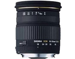 Sigma 18-50 f/2.8 EX DC(Image courtesy of Sigma Corp. of America)