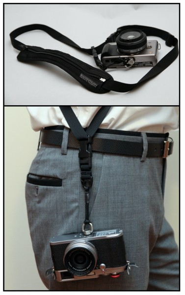 BlackRapid SnapR20 - Shoulder Strap Configuration