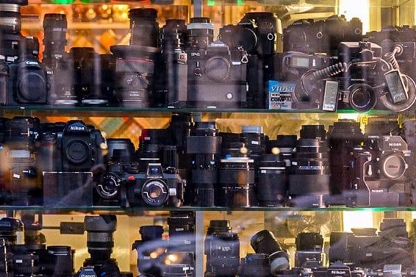 Lens store window